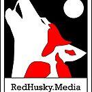 Red Husky Media Logo by redhuskymedia