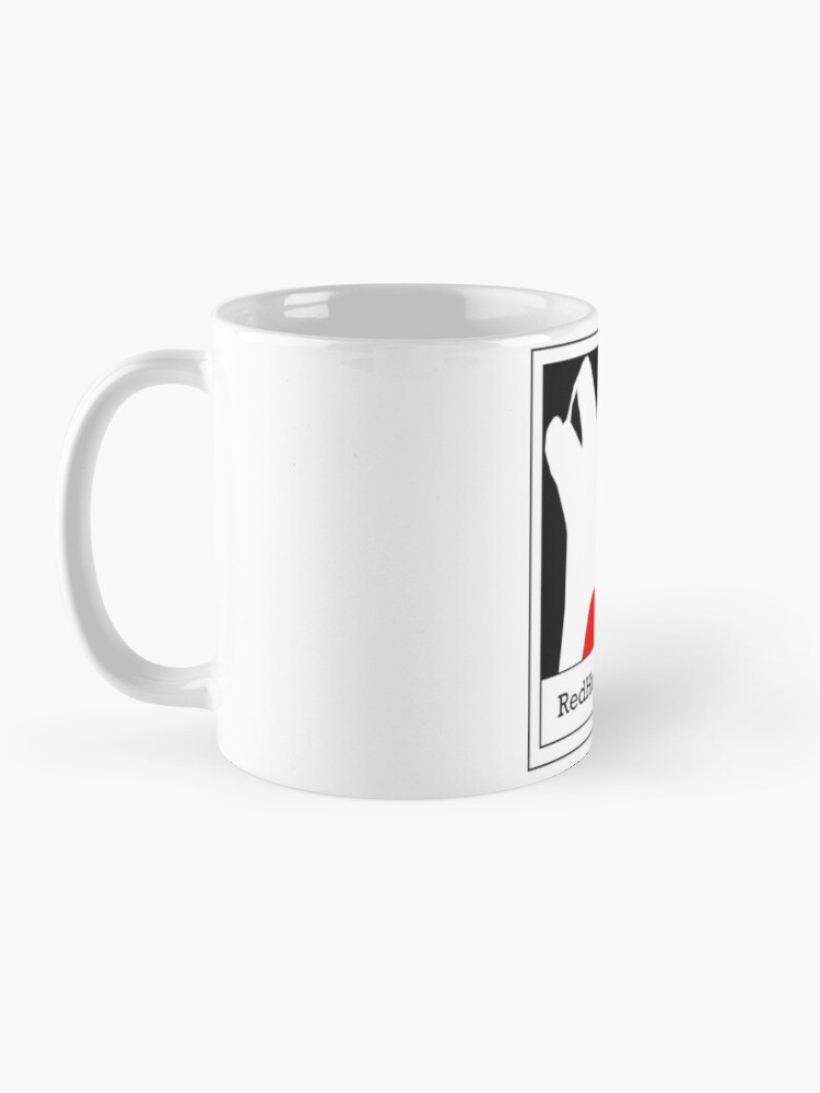 Alternate view of Red Husky Media Logo Mug