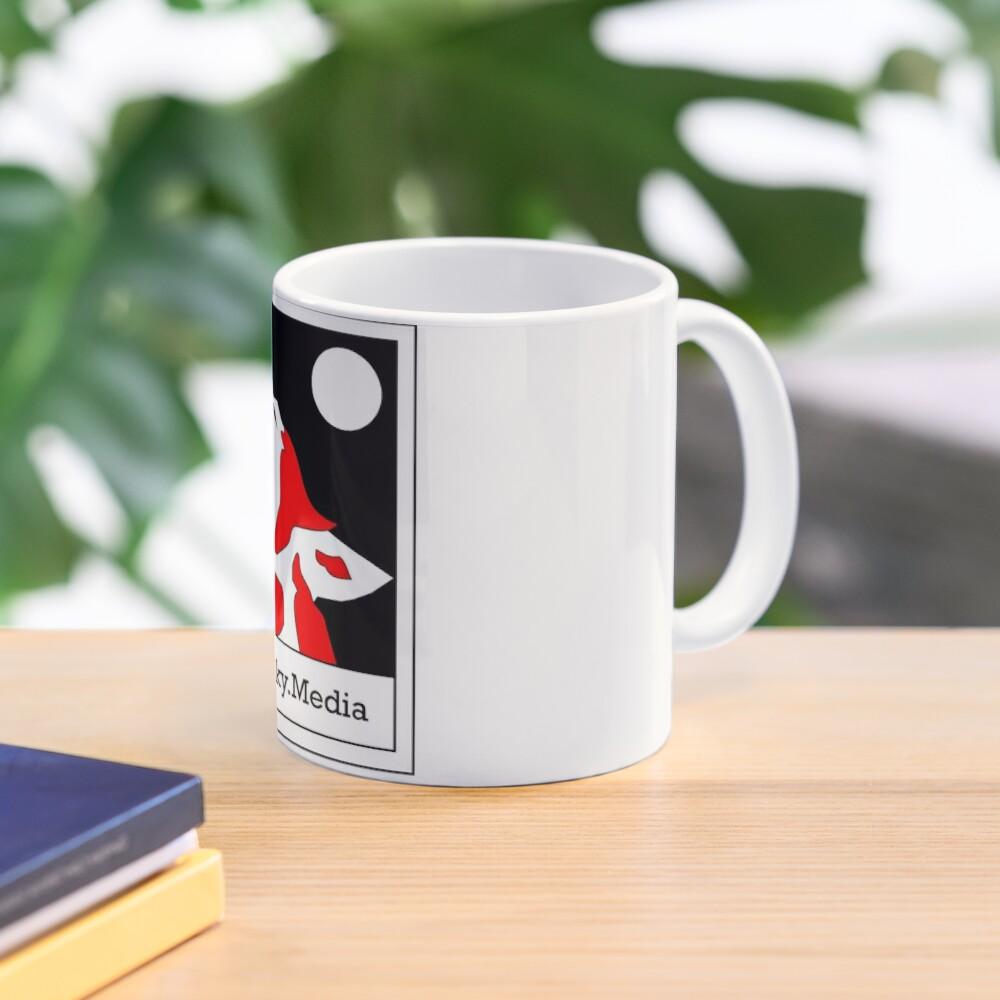 Red Husky Media Logo Mug