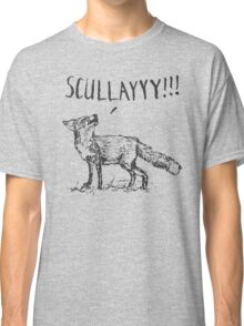 What a Certain Fox Says Classic T-Shirt