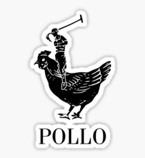Pollo Shirt (GET IT?!) Sticker
