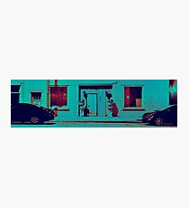 Video Game Street  Photographic Print