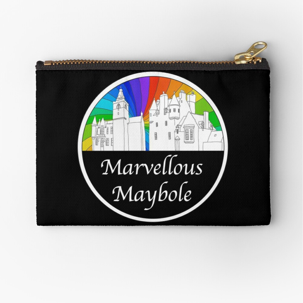 Marvellous Maybole Zipper Pouch