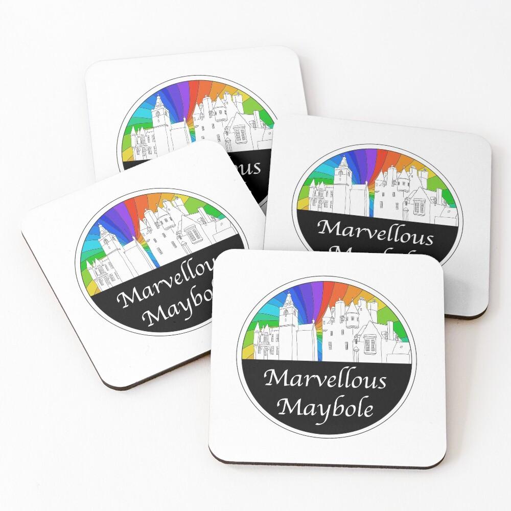 Marvellous Maybole Coasters (Set of 4)