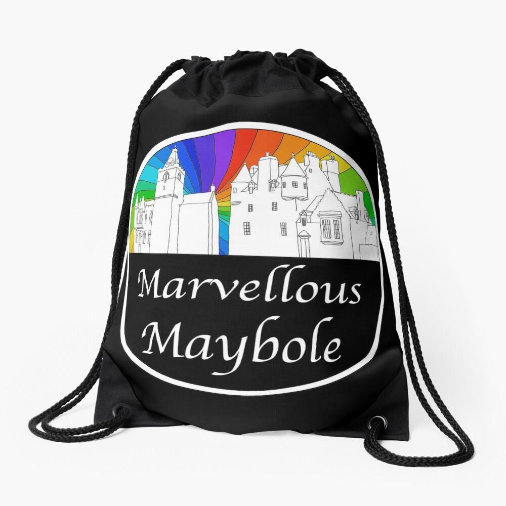 Marvellous Maybole Drawstring Bag