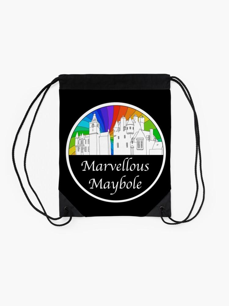 Alternate view of Marvellous Maybole Drawstring Bag