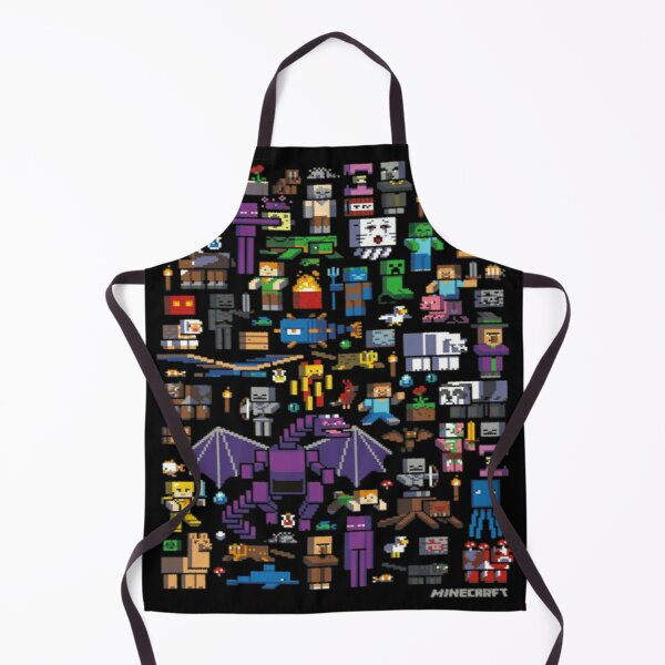 All minecraft characters . Apron
