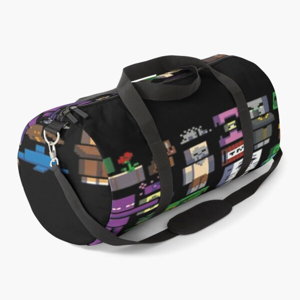 All minecraft characters . Duffle Bag