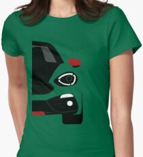 Spider simple front end Womens Fitted T-Shirt