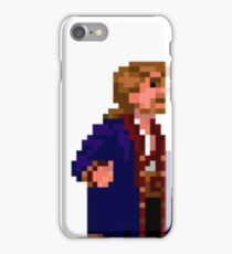 Guybrush Threepwood - Mustache Quote iPhone Case/Skin