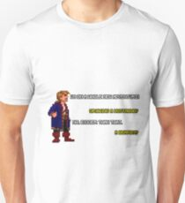 Guybrush Threepwood - Mustache Quote T-Shirt
