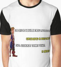 Guybrush Threepwood - Mustache Quote Graphic T-Shirt