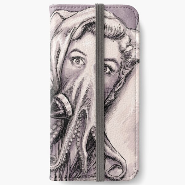 Phone Call of Cthulyn iPhone Wallet