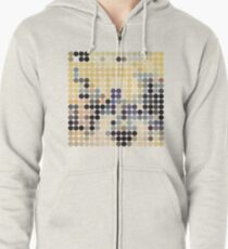 DEFINITELY MAYBE, BENDAY DOTS, OASIS Zipped Hoodie