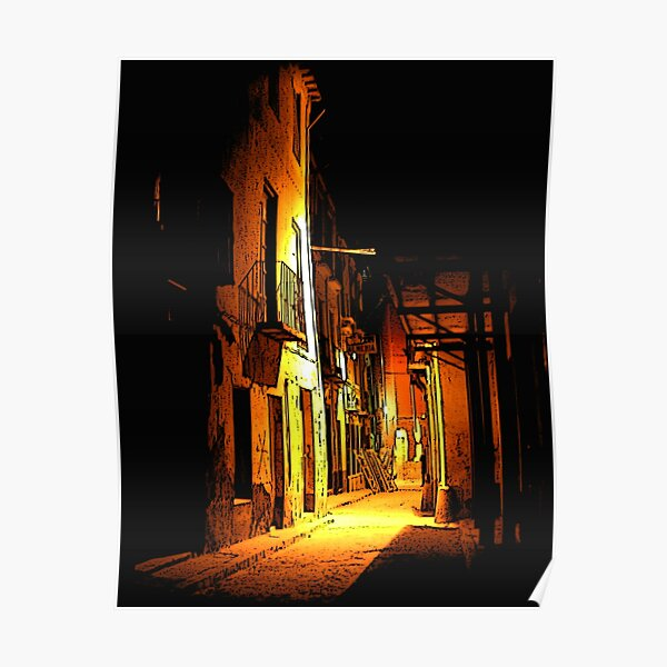Granada Pocket Night Alley Poster