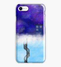 TARDIS on a Cloud- The Snowmen iPhone Case/Skin