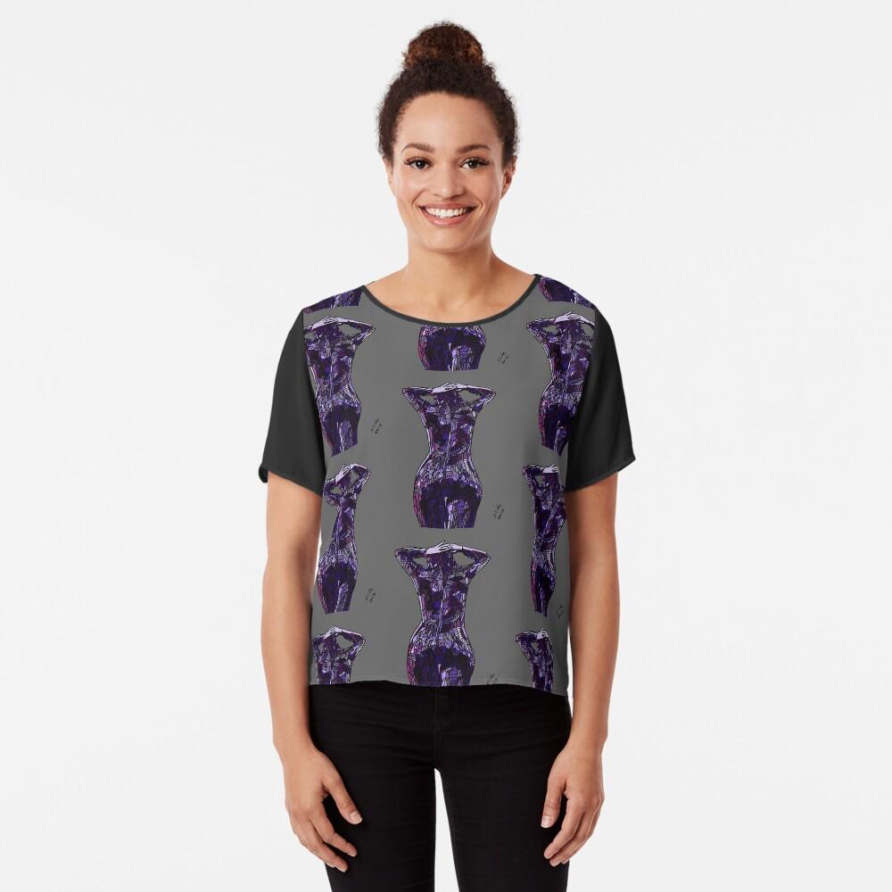 Purple Latex, 2014 Chiffon Top