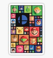 Super Smash bros 4 Sticker