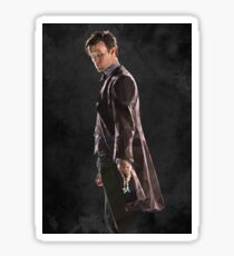 Low Poly 11th Doctor Sticker
