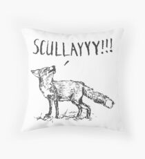What a Certain Fox Says Throw Pillow