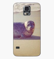 Sand, Sea and a Seal Case/Skin for Samsung Galaxy