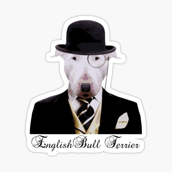 Dapper English Bully Sticker