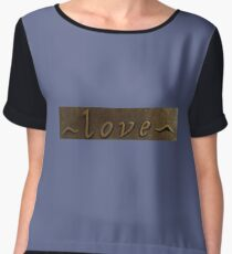 Love Love Chiffon Top