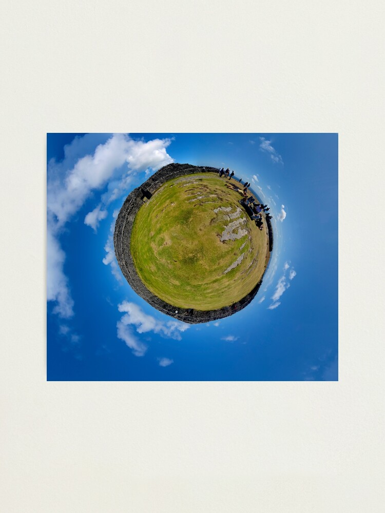 Alternate view of Fortified Ball - Inside Dun Aengus stone fort Photographic Print