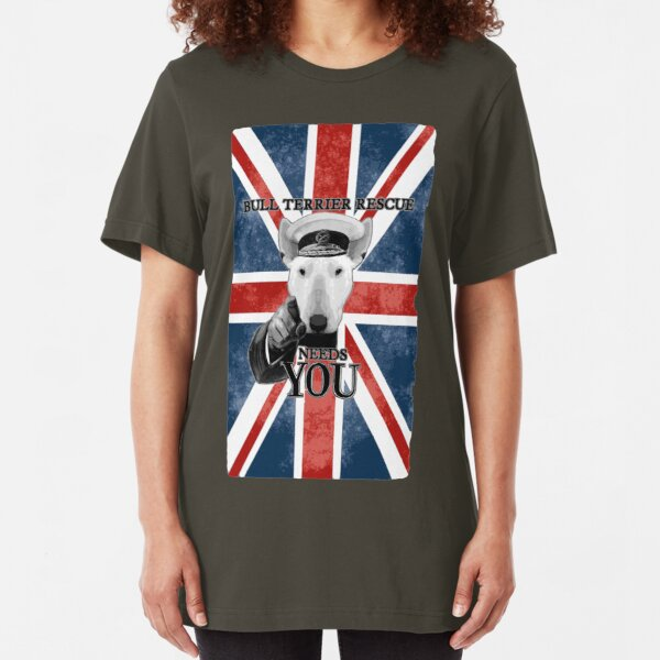 WWI Bully Kitchener Needs YOU! Slim Fit T-Shirt