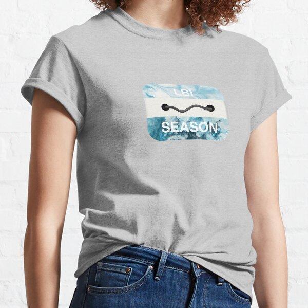 Long Beach Island Beach Badge Classic T-Shirt