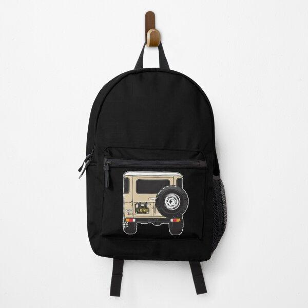 A fine rear end in tan Backpack