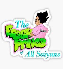 The Fresh Prince of All Saiyans  Sticker