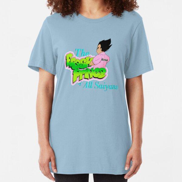 The Fresh Prince of All Saiyans  Slim Fit T-Shirt
