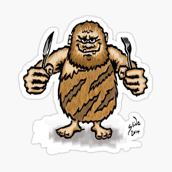 Caveman Diet, 2014 Sticker