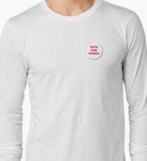 Vote for Pedro - Badge Long Sleeve T-Shirt
