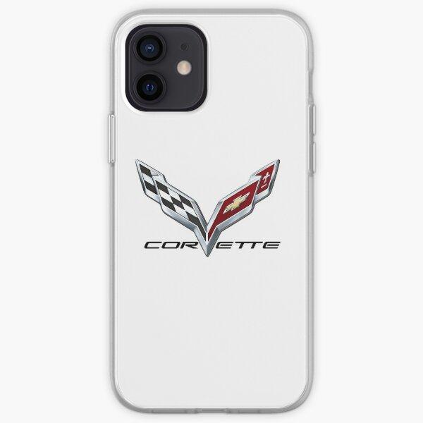 Corvette C7 logo iPhone Soft Case
