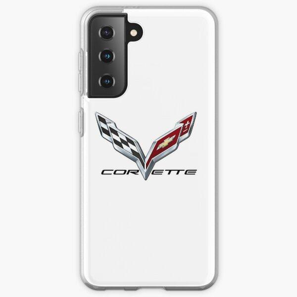 Corvette C7 logo Samsung Galaxy Soft Case