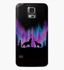 Aurora Wolves 2 by Leslie Berg Case/Skin for Samsung Galaxy