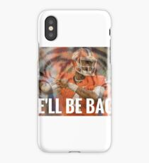 Clemson: We'll Be Back iPhone Case/Skin