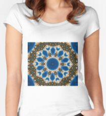Barbwire Bloom Women's Fitted Scoop T-Shirt