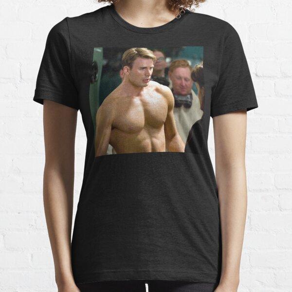 Chris Evans Fan Art & Merch Essential T-Shirt