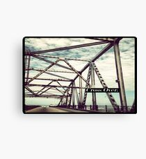 Cross Over Canvas Print