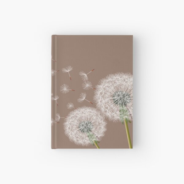 Dandelion Make  A Wish Hardcover Journal