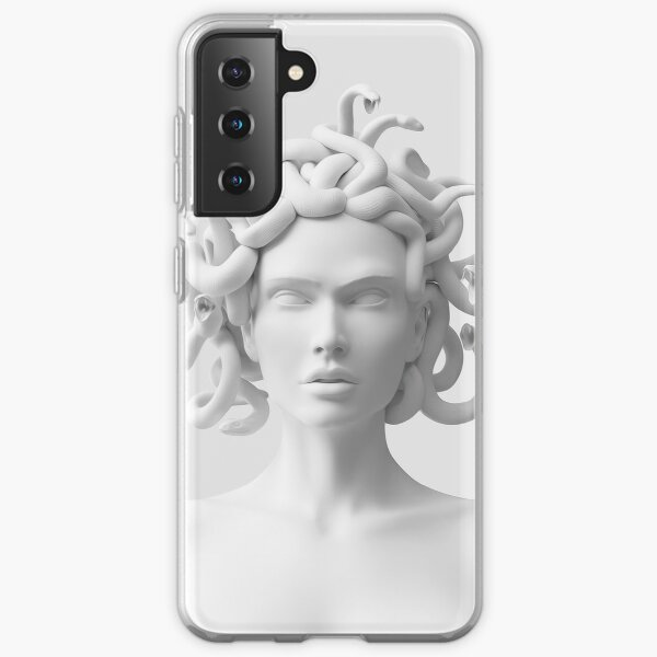 Marble Medusa Bust Samsung Galaxy Soft Case