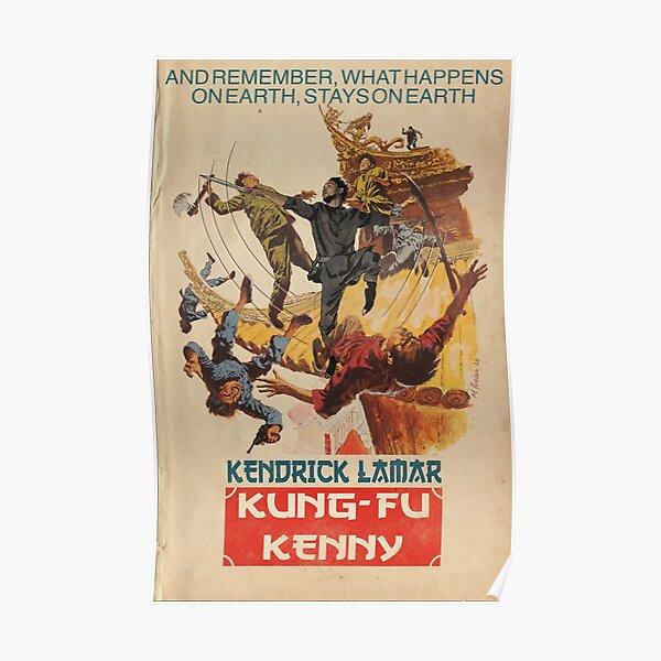 Kendrick Lamar - Kung Fu Kenny Parody Poster