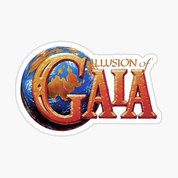 Gaia Logo Sticker