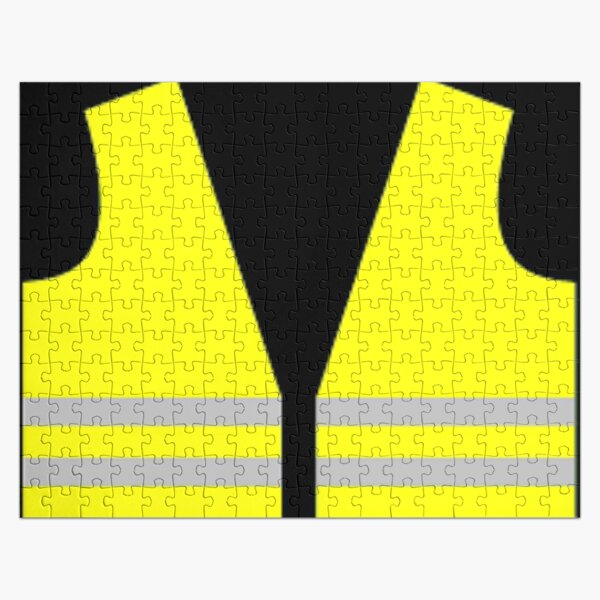 #Yellow, #high-#visibility #clothing, patriotism, symbol, design, illustration, rows, striped Jigsaw Puzzle