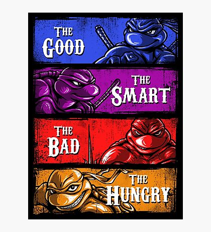 The Good, The Smart, The Bad, and The Hungry Photographic Print