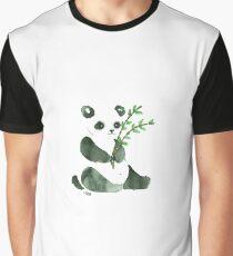 cute ink panda Graphic T-Shirt