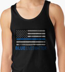 Blue Lives Matter Tank Top